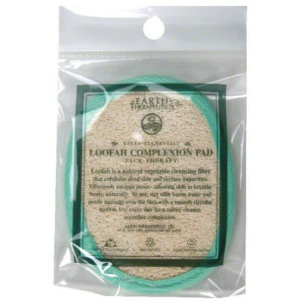 Earth Therapeutics Loofah, Complexion Pad