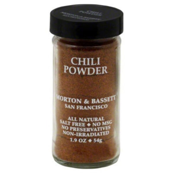 Morton & Bassett Spices Chili Powder