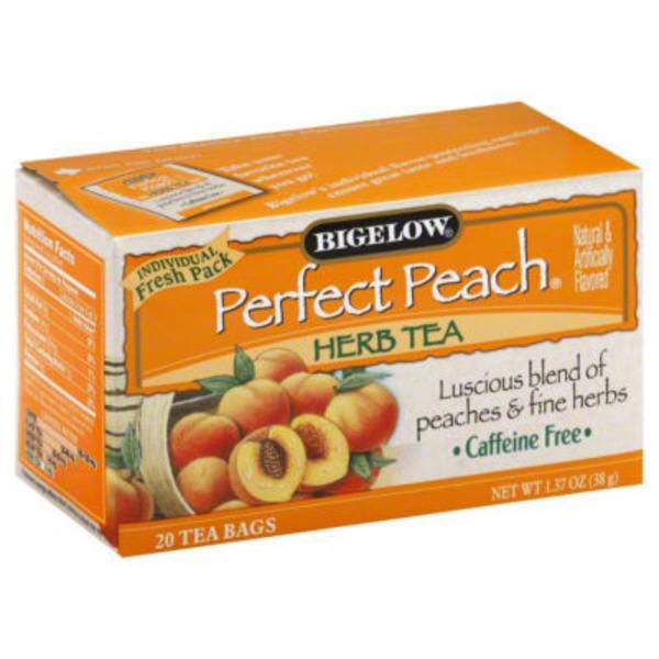 Bigelow Perfect Peach Herb Tea Bags