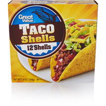 Great Value 12 Taco Shells