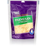 Great Value Finely Shredded Parmesan Cheese