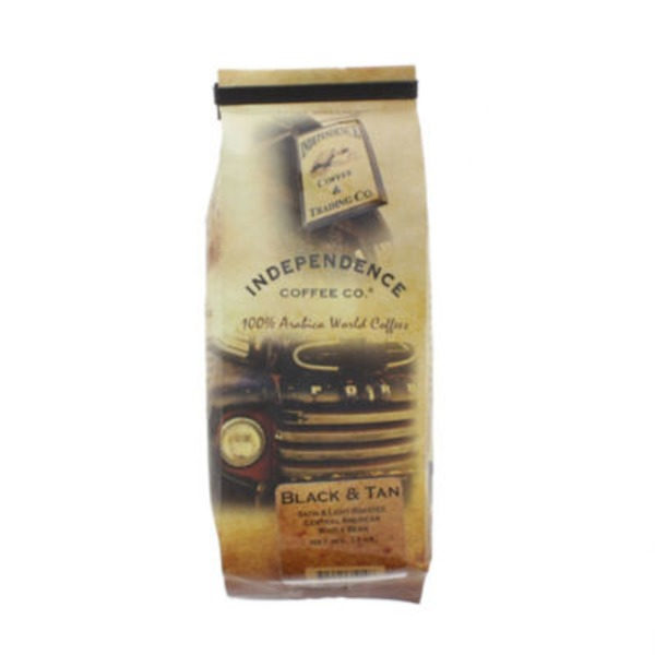 Independence Black & Tan Whole Bean Coffee