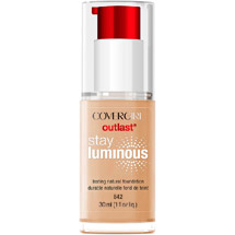 CoverGirl Outlast Stay Luminous Foundation 842 Medium Beige