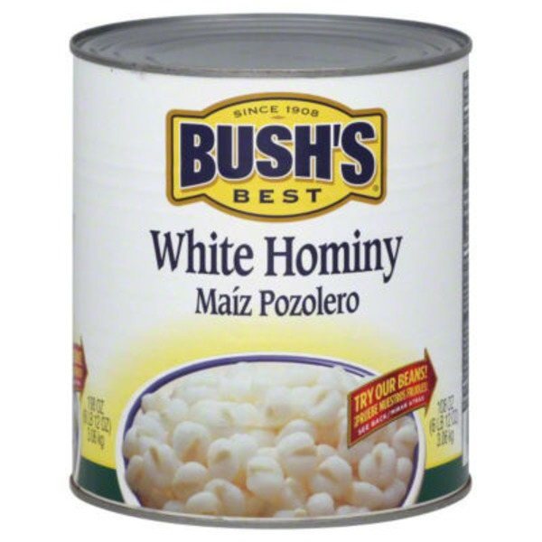 Bush's Best White Hominy