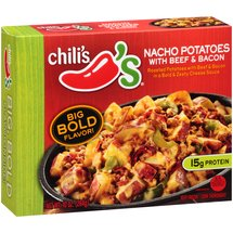 Chili's Nacho Potatoes with Beef & Bacon