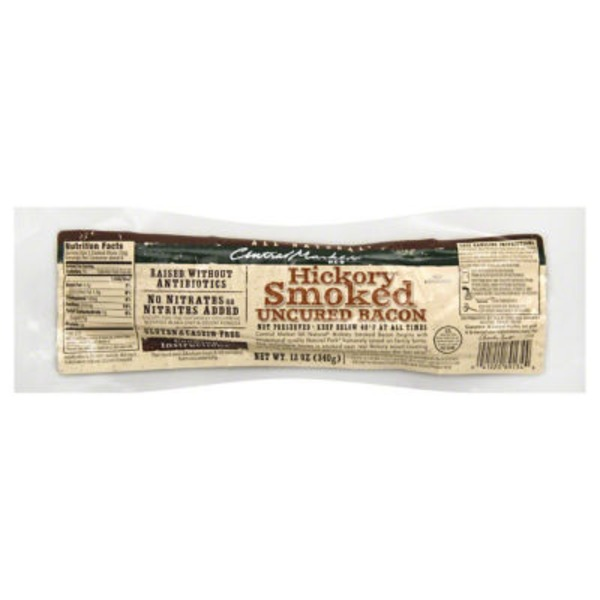 Central Market All Natural Uncured Hickory Smoked Bacon