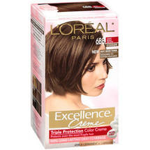Excellence Creme Triple Protection Color Cr 100% Gray Coverage Light Beige Brown Cooler 6Bb Hair Color