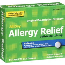 PL Developments Original Prescription Strength All-Day Allergy Relief 10mg Tablets