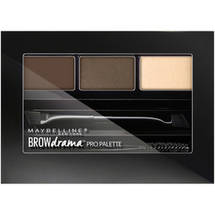 Maybelline New York Eye Studio Brow Drama Pro Palette Compact Deep Brown