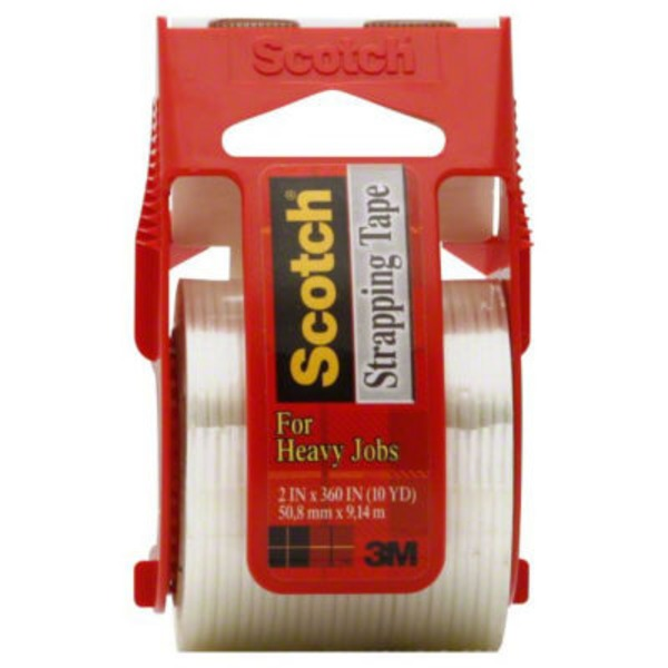 Scotch Shipping Strapping Tape Reinforced Strength (50)