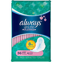 Always Pads Ultra Thin Wings