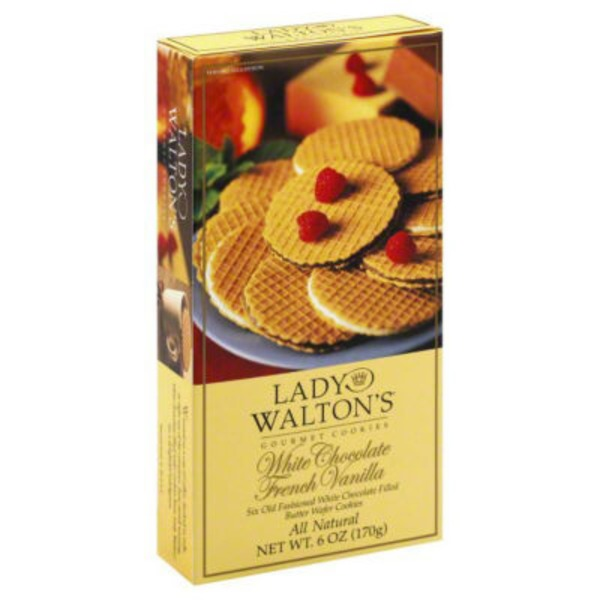 Lady Walton's Gourmet White Chocolate French Vanilla Cookies