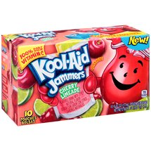 Kool-Aid Jammers Cherry Limeade Flavored Drink