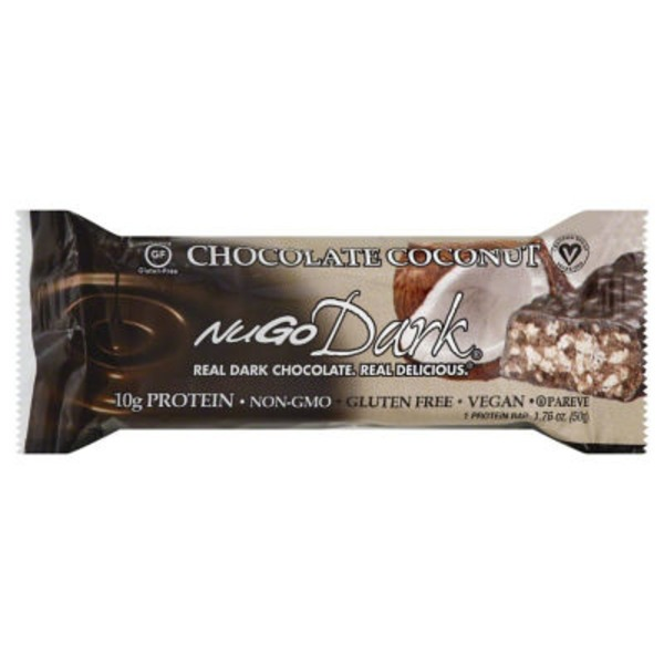 NuGo Dark Protein Bar Chocolate Coconut