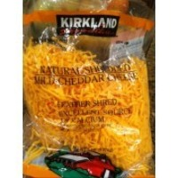 Kirkland Signature Shredded Mild Cheddar Cheese