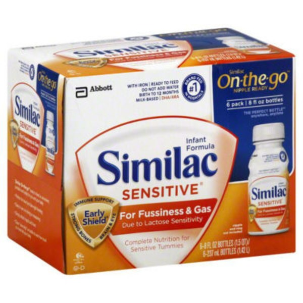 Similac Sensitive On-the-Go Infant Formula