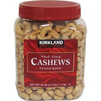 Kirkland Signature Whole Fancy Cashews