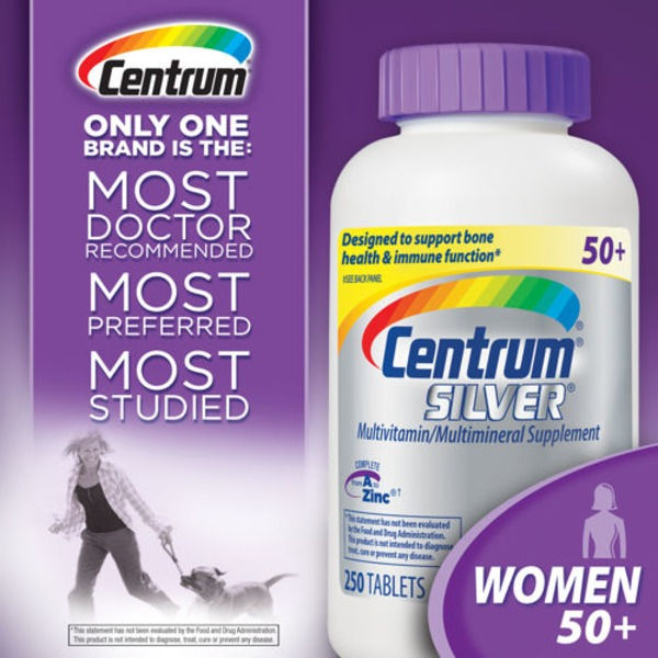 Centrum Silver Women 50+ 250 Tablets