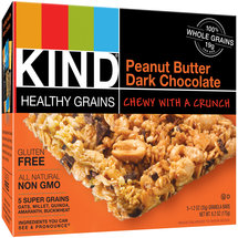 KIND Healthy Grains Peanut Butter Dark Chocolate Granola Bars