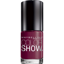 Maybelline Color Show Nail Lacquer Wine And Forever