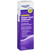 Equate Maximum Strength Diaper Rash Ointment