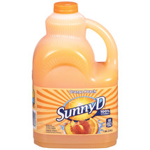 Sunny D Orange Fused Peach Citrus Punch 128 Fl Oz