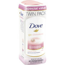 Dove go sleeveless Beauty Finish Antiperspirant Deodorant