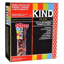 Kind Plus Dark Chocolate Cherry Cashew Bar