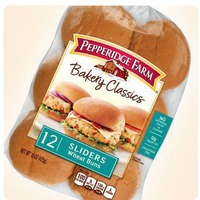 Pepperidge Farm Fresh Bakery Bakery Classics Sliders Wheat Buns