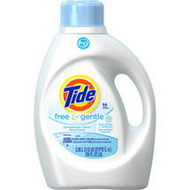 Tide 2X Ultra Free Detergent for High Efficiency Machines
