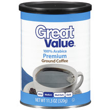 Great Value 100% Arabica Medium Ground Coffee