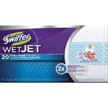 Swiffer WetJet Mop Refills with the Power of Mr. Clean Magic Eraser
