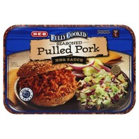 H-E-B Fully Cooked Seasoned Pulled Pork With Bbq Sauce
