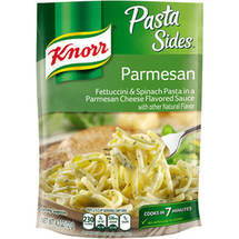 Knorr Pasta Sides Fettuccini & Spinach Pasta In A Parmesan Cheese Sauce