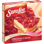 Sara Lee Smooth & Creamy Cherry Original Cream Cheesecake
