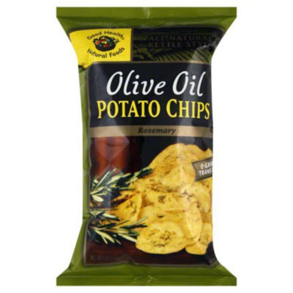 Good Health Olive Oil Kettle Style Chips Rosemary