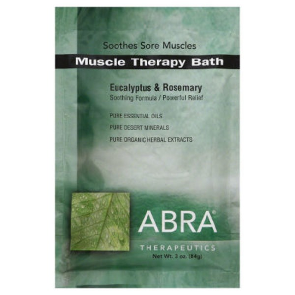 ABRA Eucalyptus & Rosemary Muscle Therapy Bath Salts