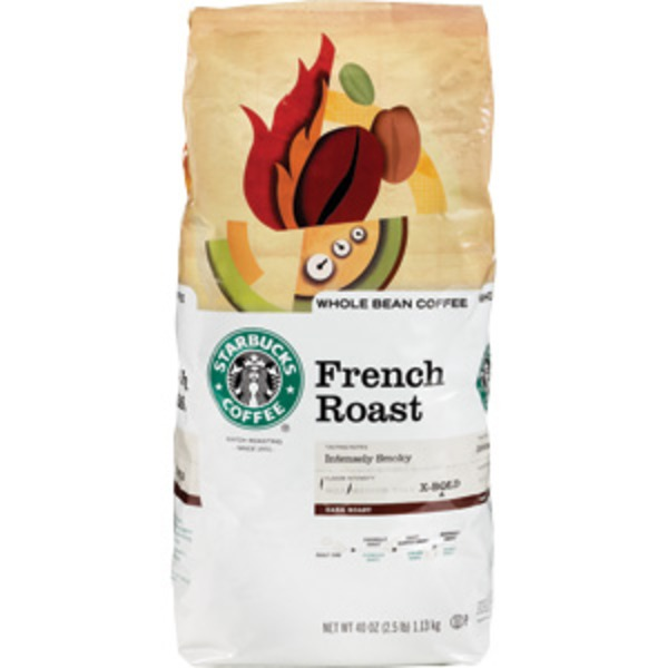 Starbucks Coffee Whole Bean French Roast