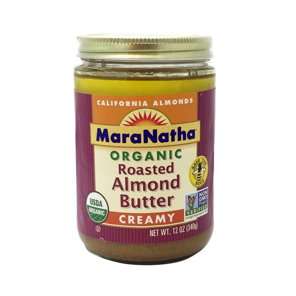 Maranatha Organic Roasted Creamy Almond Butter