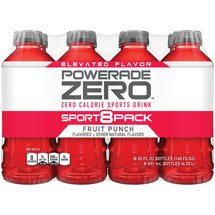 POWERADE Zero Fruit Punch Zero Calorie Sports Drink