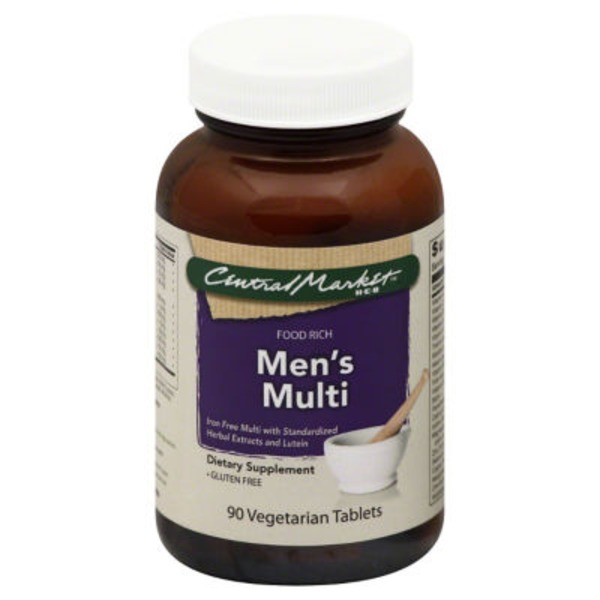 Central Market Men's Multi Tablets