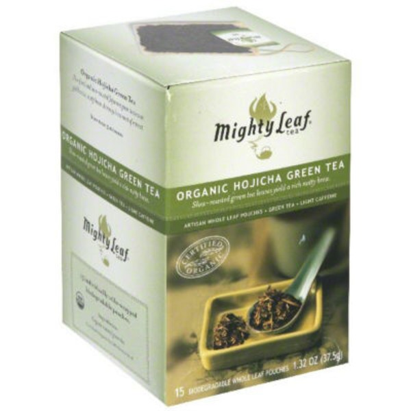 Mighty Leaf Organic Hojicha Green Tea