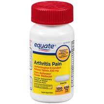 Equate Arthritis Pain Acetaminophen Extended-Release Pain Reliever/Fever Reducer Caplets