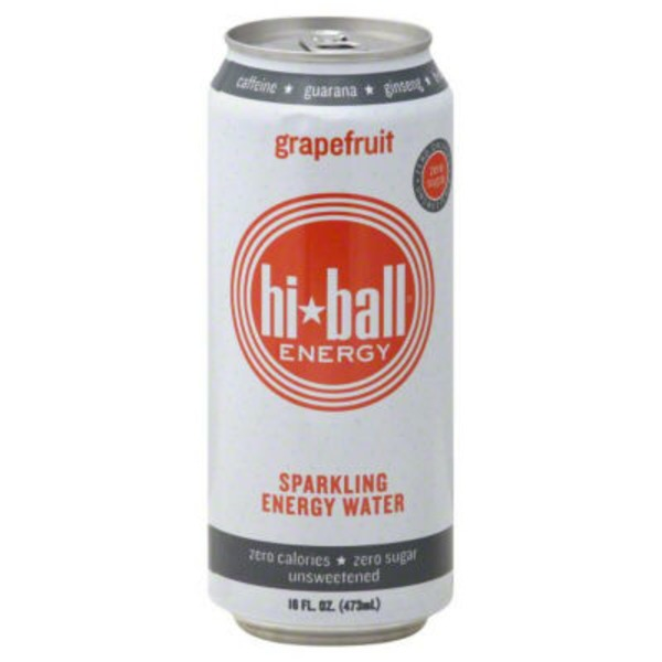 Hi-Ball Sparkling Energy Water Grapefruit