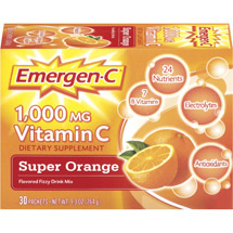 Emergen-C Super Orange Packets Dietary Supplement