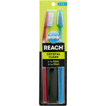 Reach Crystal Clean Full Head Firm Toothbrush