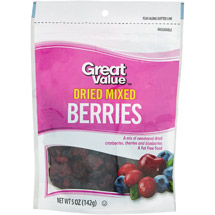 Great Value Dried Mixed Berry