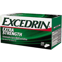Excedrin Extra Strength Acetaminophen Pain Reliever Caplets