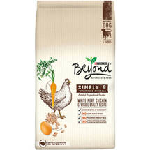 Purina Beyond Simply 9 White Meat Chicken and Whole Barley Recipe Dog Food Bag