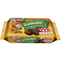 Keebler Fudge Shoppe Grasshopper Mint Cookies